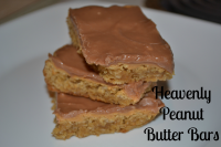 heavenly peanut butter bars
