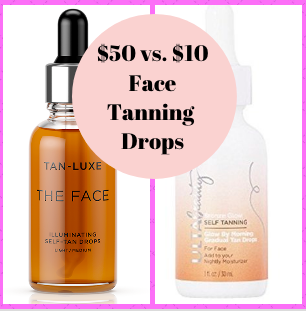 2cfbe15371f3 Steal or Splurge   50 vs.  10 Face Tanning Drops